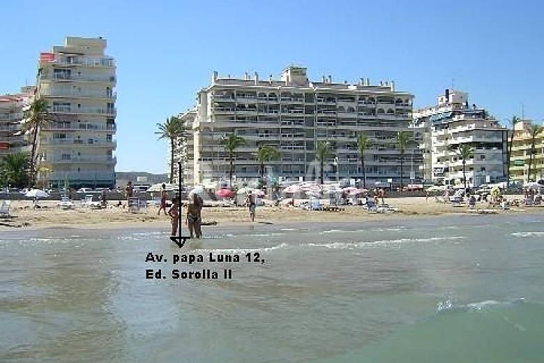 Apartment with 2 bedrooms only 40 meters from the beach Castellón