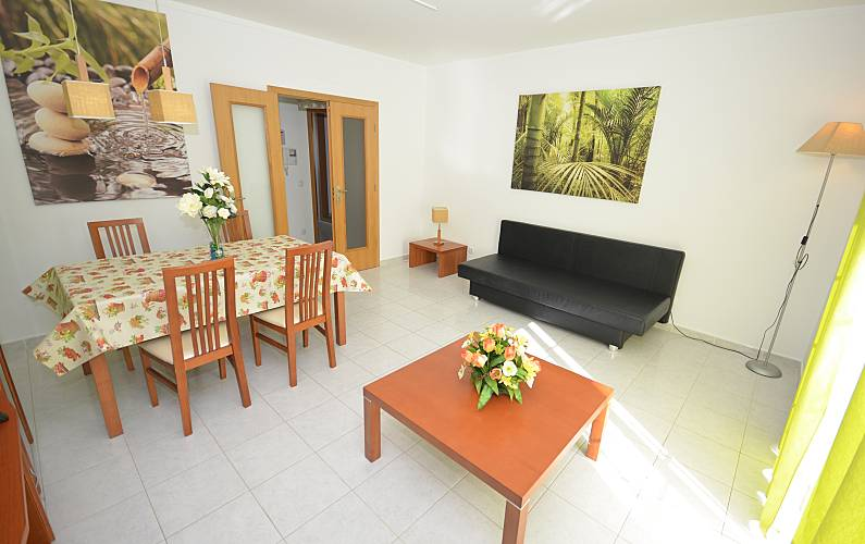6 Living-room Algarve-Faro Albufeira Apartment - Living-room