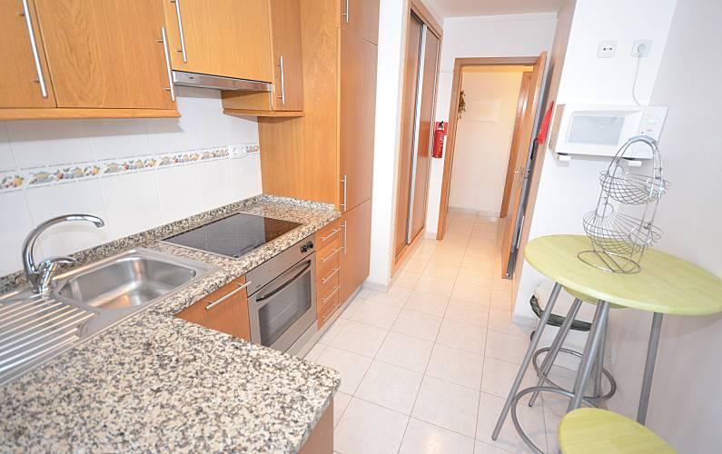 Apartamento Cozinha Algarve-Faro Albufeira Apartamento - Cozinha
