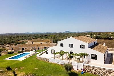 Casa de 6 habitaciones a 3 km de la playa Menorca