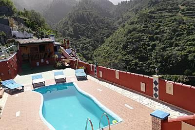 Tkasita Galicia 1 con Piscina y Vistas. La Palma.  La Palma