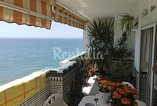 Apartment for 6 in beachfront Málaga