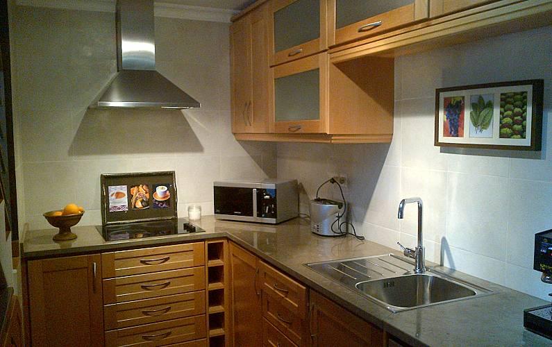 Beach Kitchen Algarve-Faro Aljezur House - Kitchen