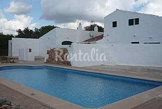 Menorca, casa campo con piscina privada . Menorca