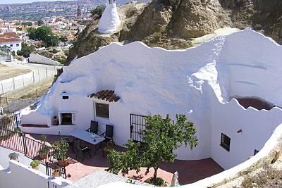 Casa-Cueva de 2 habitaciones en Guadix Granada