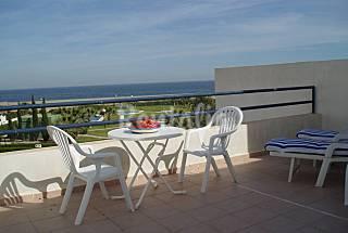 Casa para 8 personas en primera linea de playa Almería