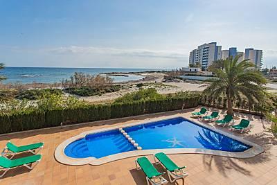Impresionante villa en primera linea Mediterráneo Murcia