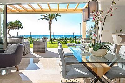 Casa de lujo en 1a línea de playa para 6 pax Alicante