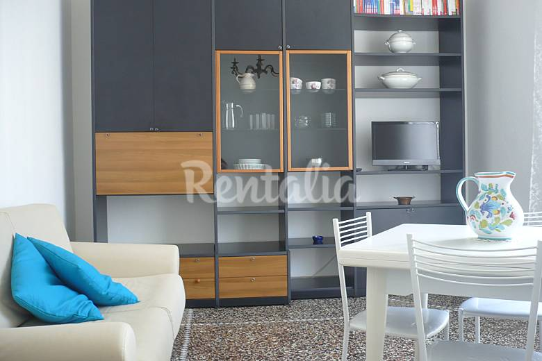 Holiday Living-room Genoa Sestri Levante Apartment