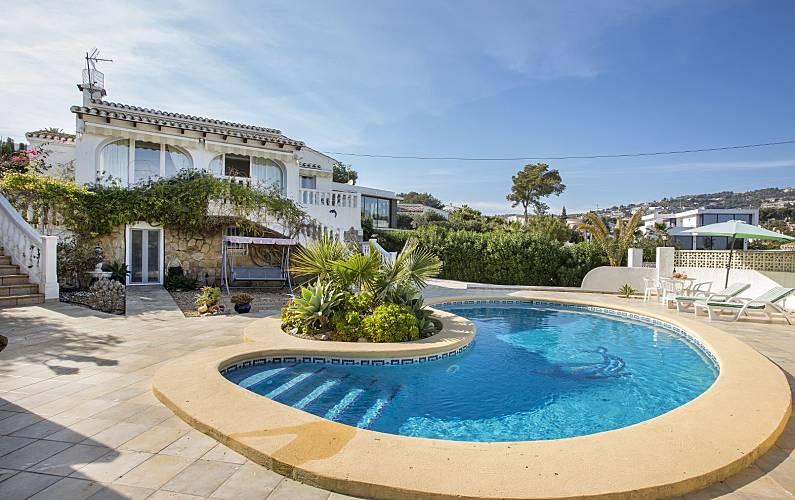 a16053f407565 Chalet cerca de la playa con piscina privada - Calpe Calp (Alicante ...