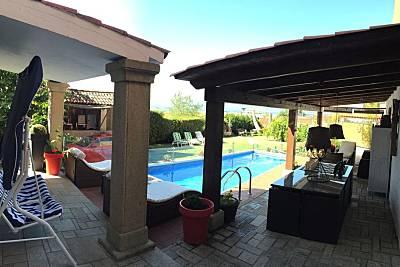 Casa en la playa con piscina privada para 10 pers. Pontevedra