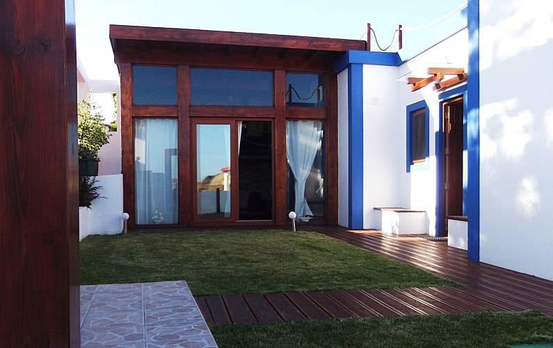 Vivenda para alugar a 80 m da praia Leiria - Exterior da casa