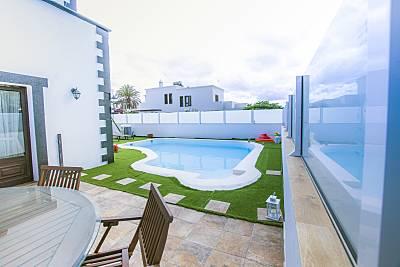 Villa en alquiler a 7 km de la playa Lanzarote