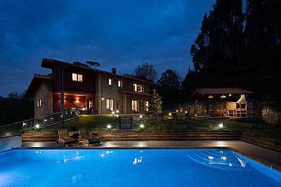 Villa de 4 habitaciones a 2 km de la playa Asturias