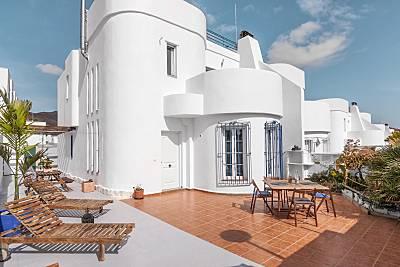 Casa Aloe Pro con vistas Del Mar  Almería
