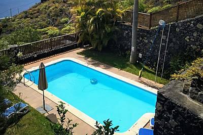 Tkasita La Reverica 1, Piscina y Asadero. Canarias La Palma