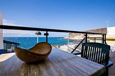 Apartamento de 2 dorm en 1a línea del mar, Caleta Tenerife