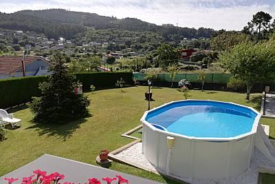 Vigo casa con piscina cerca de la playa Pontevedra