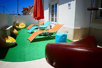 Casa para 11-14 pessoas a 1000 m da praia Leiria