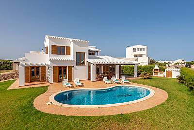 Villa de 4 habitaciones a 1000 m de la playa Menorca