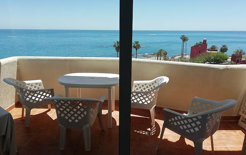 Benal beach - front sea & panoramic views - Arroyo de La