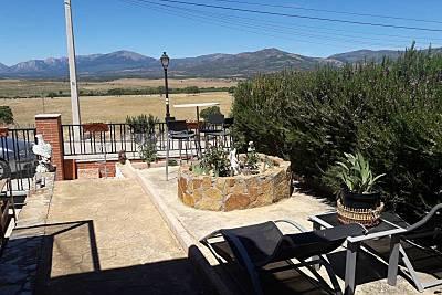 Casa vistas a la montaña Madrid