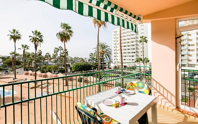 Apartamento Acapulco 2 Min Del Playa Las Americas Playa