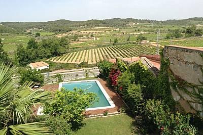 Espectacular villa con piscina Tarragona