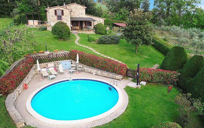 Villa Privata Con Piscina E Jacuzzi E Giardino Montecastelli Pisano Castelnuovo Di Val Di Cecina Pisa