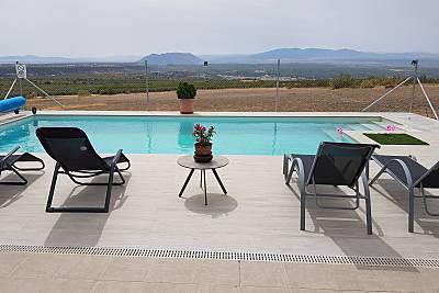 Espectacular villa con piscina Jaén