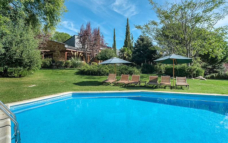 House For Rent With Swimming Pool Mataelpino El Boalo Madrid Madrid Way Of St James