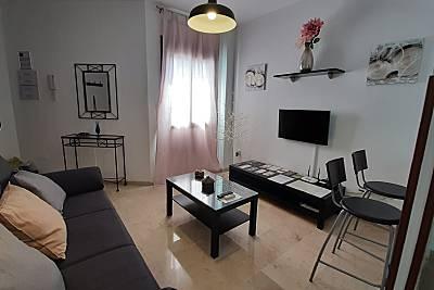 Apartamento céntrico con wifi y parking opcional. Málaga