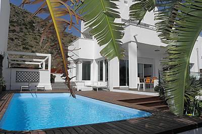Villa para 8-9 personas a 500 m de la playa Almería