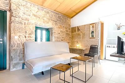 Espectacular casa con terraza Pontevedra