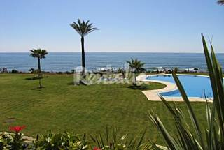 Apartment for 4-5 people on the beach front line Málaga