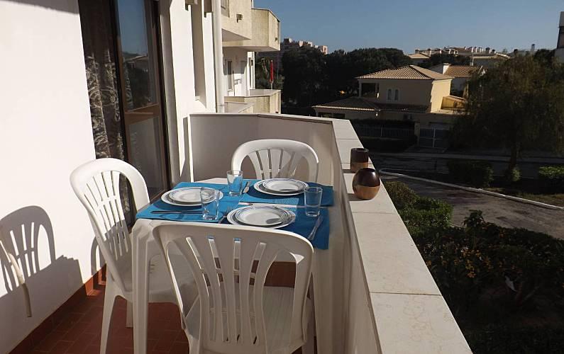 2 Terraza Algarve-Faro Albufeira Apartamento - Terraza