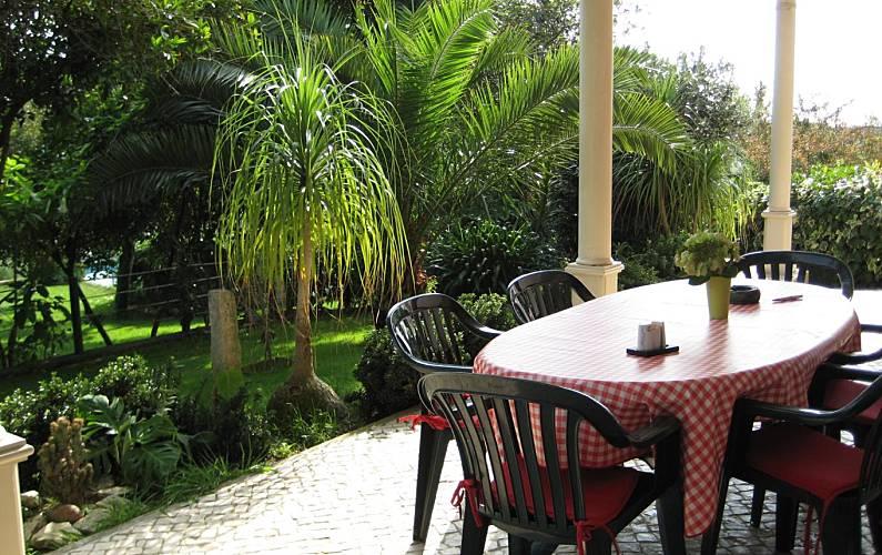 Beco Terraza Leiria Leiria Villa en entorno rural - Terraza