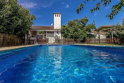 Grande casa con piscina & terraza Badajoz