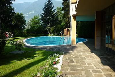 Monolocale con accesso piscina Bolzano