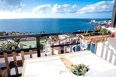 Bonito apt con acceso piscina Tenerife