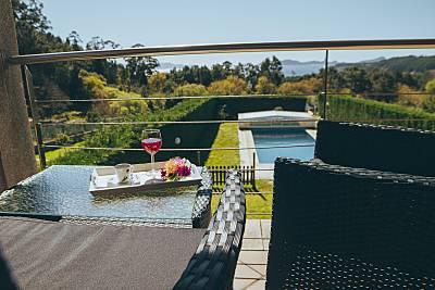 Dúplex con piscina frente a las Islas Cíes Pontevedra