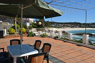 2 Apartments for rent on the beach front line Pontevedra