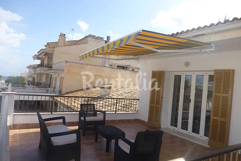 Apartamento en alquiler a 100 m de la playa ca 39 n picafort santa margalida mallorca levante - Apartamentos alquiler palma de mallorca ...
