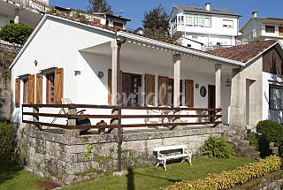 House for 8 people on the beach front line Pontevedra
