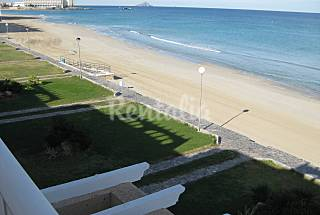 House with 3 bedrooms on the beach front line Murcia