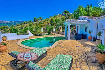 Villa Piscina,Jacuzz Barbacoa, Espaciosa y Única.  Málaga