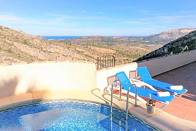Costa Blanca, villa hermosa, gran vista Alicante
