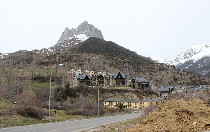 Lujosa Alrededores Huesca Sallent de Gállego Apartamento - Alrededores
