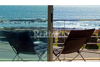 Beachfront apartment w/ sea view, 6 Km from Oporto Porto