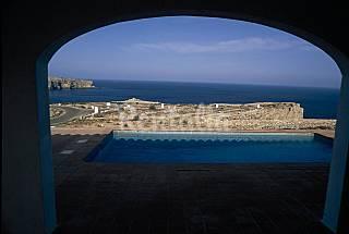Primera línea de mar Villa con piscina 7 personas Menorca